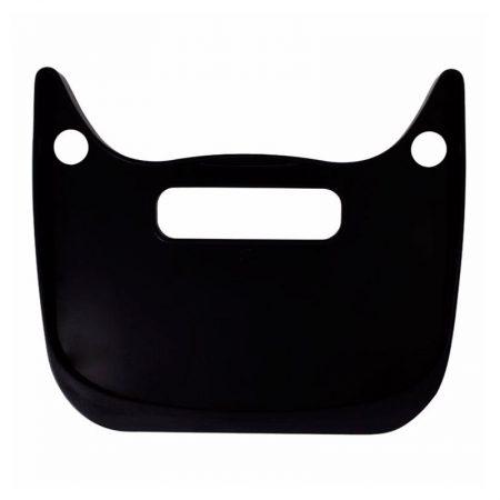 Cepillo y recogedor gato negro Pylones parte atrás