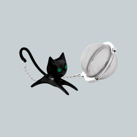 Colador de té de Gato Negro Pylones