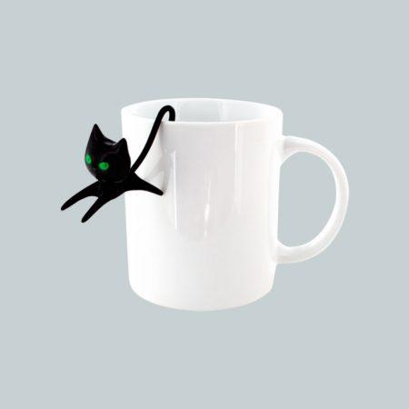 Colador de té de Gato Pylones