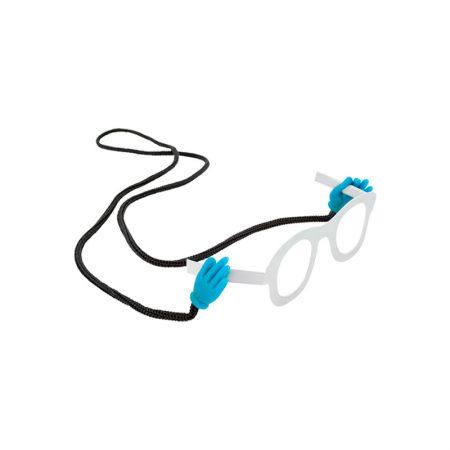 """Cordón Gafas """"manitas"""" azul pylones"""