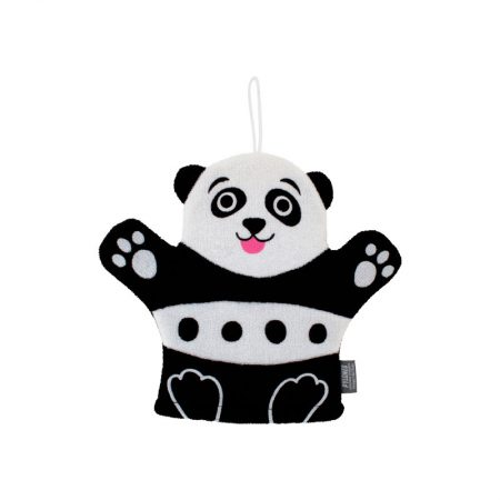 Guante de ducha Panda Pylones