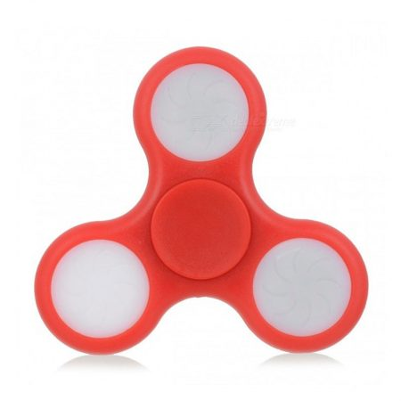 Spinner 3 Led Rojo
