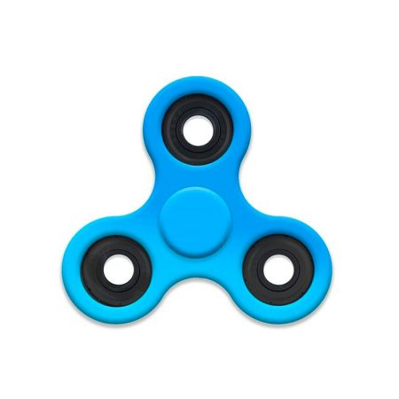 Spinner de colores azul