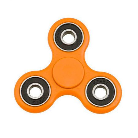 Spinner de colores naranja