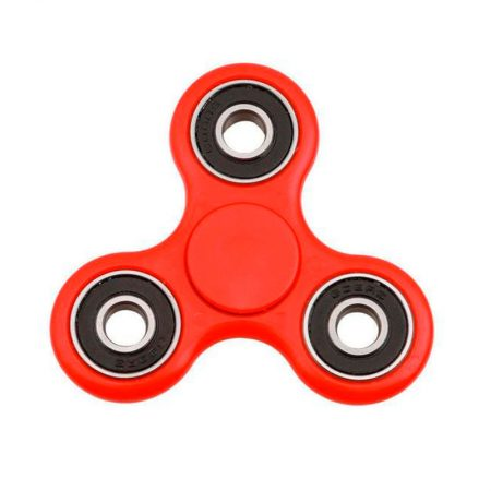 Spinner de colores rojo