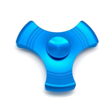 Spinner hacha metalicos Azul