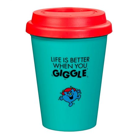Travel Mug Little Miss Giggles Back