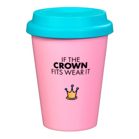 Travel Mug Little Miss Princess back