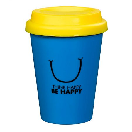 Travel Mug Mr happy back