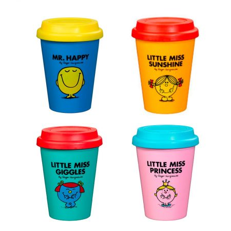 Travel Mug Mr men and Miss Little Shunshuine
