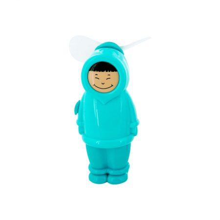 Ventilador esquimal Chico azul Pylones