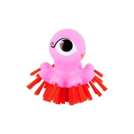 Cepillo limpiador Pulpo rosa Pylones