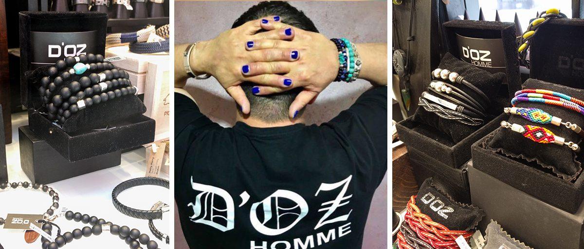 pulseras de diseño para hombre d'oz