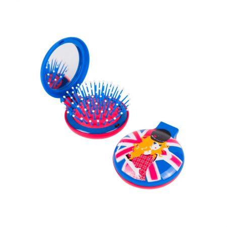 Espejo cepillo original chica Londres Pylones