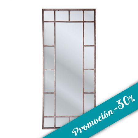 Espejo ventana hierro Pylones promocion 30%