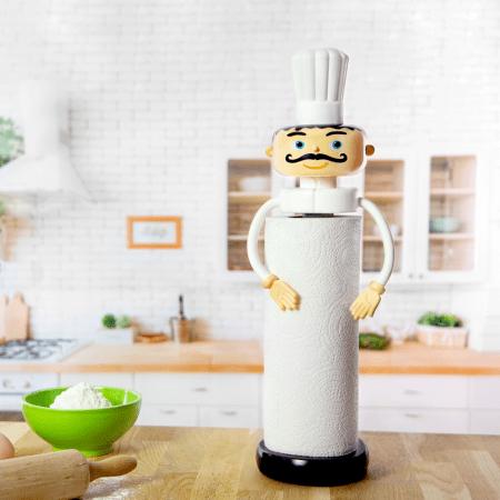 Porta Rollos papel de cocina diseño Chef de Pylones