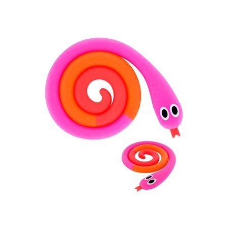 Salvamanteles serpiente rosa y naranja Pylones