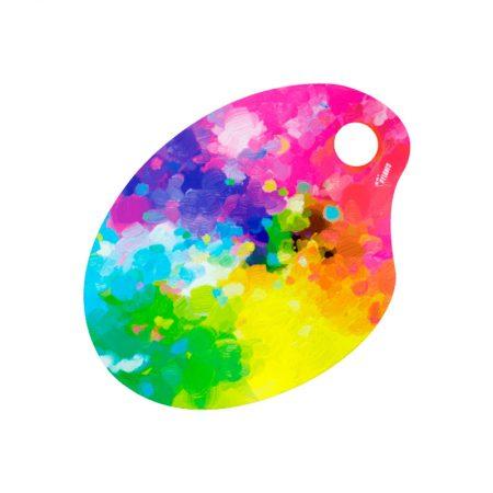 Tabla de cortar Paleta de Pintor Pylones
