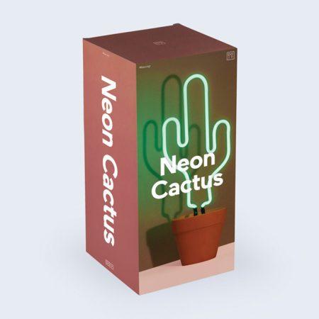 lampara cactus neon original