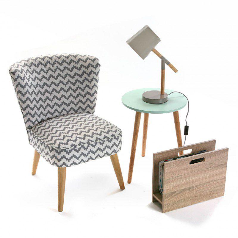 L mpara de mesa de dise o n rdico peque a o2lifestyle - Mesa auxiliar estilo nordico ...