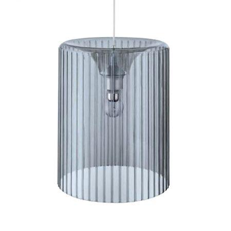Lámpara elegante de techo en metacrilato gris
