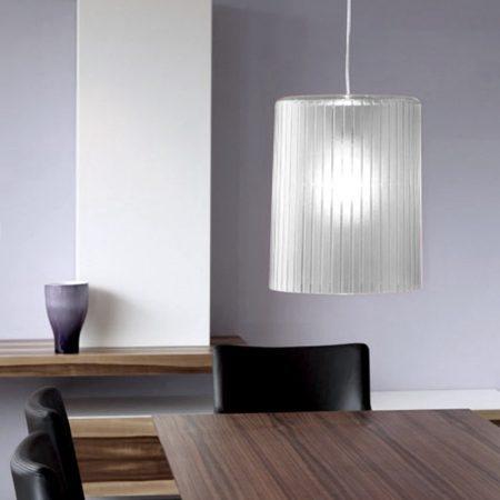 Lámpara de techo en metacrilato gris antracita
