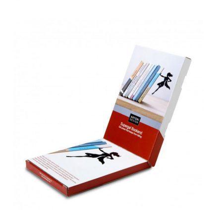 sujetalibros orginal Supergal caja