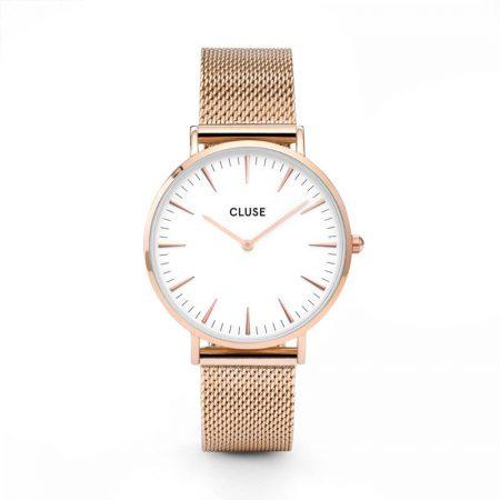 Reloj mujer Cluse la boheme oro rosa