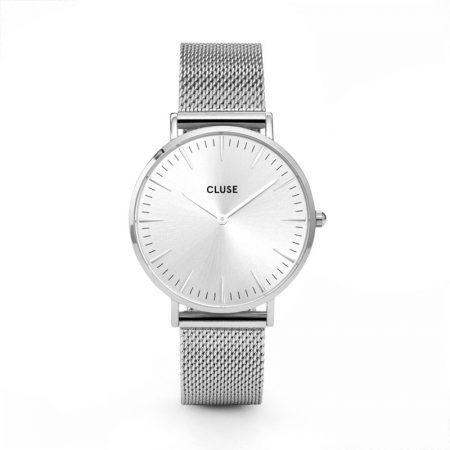 Reloj mujer Cluse la boheme plata
