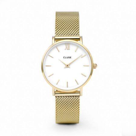 Reloj mujer Cluse Minuit Oro