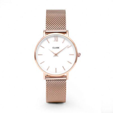 Reloj mujer Cluse Minuit Oro Rosa