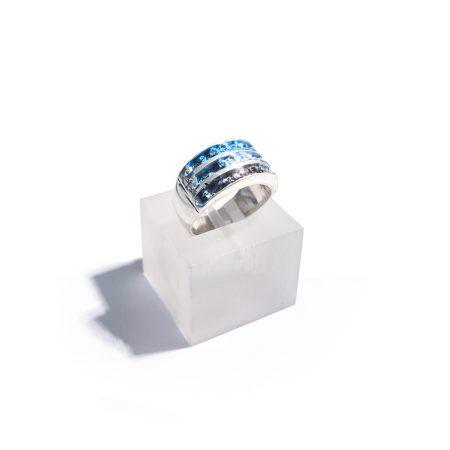anillo de plata para mujer orfega coleccion arnia