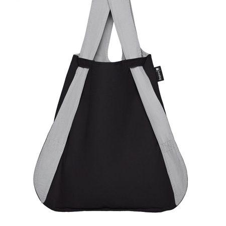 Bolsa-mochila plegable Girs y Negra en fomra de bolsa