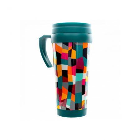 Vaso termo original tipo mug Pylones acordeón