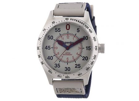 reloj superdry acero compound super-sportcaballero
