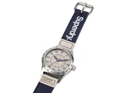 reloj superdry acero compound super sport caballero