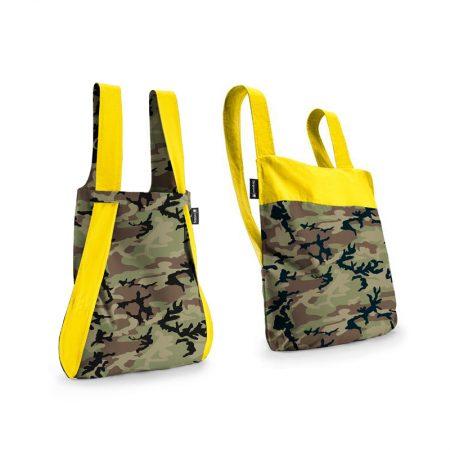 bolsa-mochila-plegable-camuflaje-amarillo
