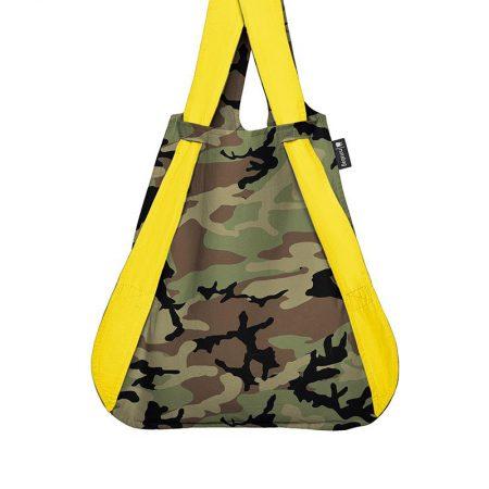 bolsa-mochila-plegable-camuflaje-amarillo-bolsa