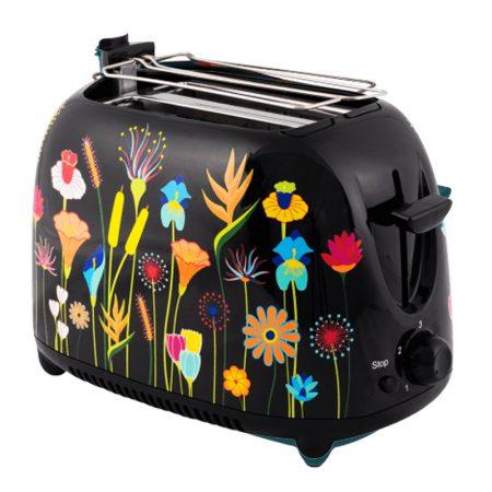 tostadora-pylones-tartin-jardin-flores-negro