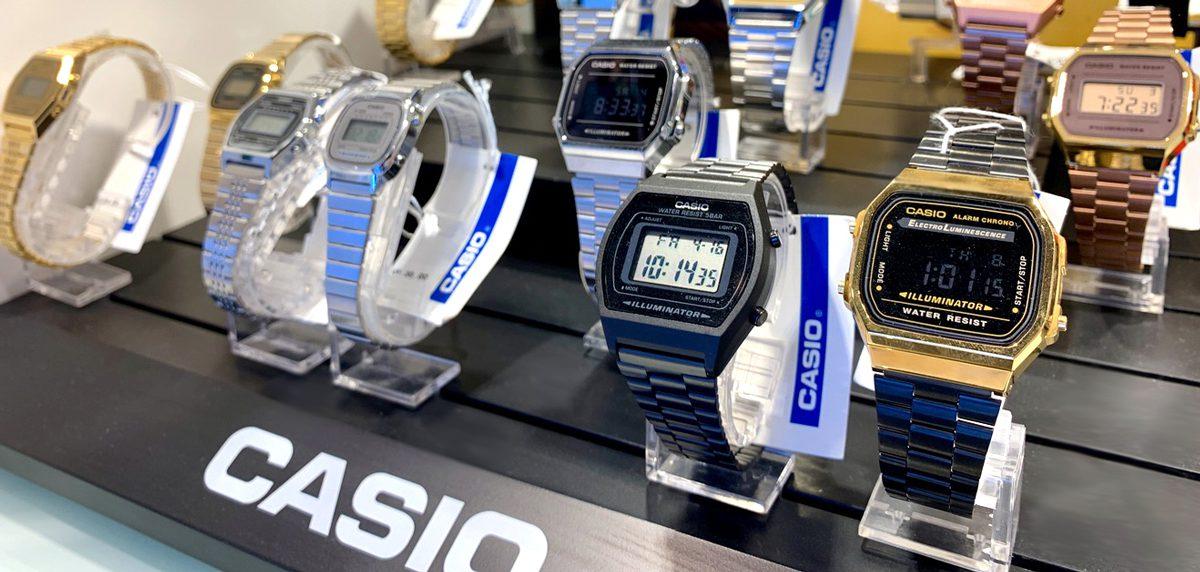 Relojes Casio estilo retro