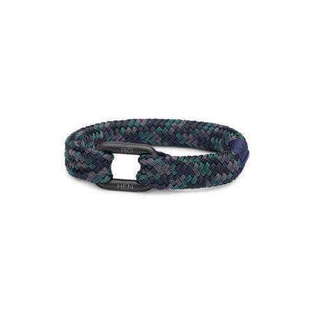 Pulsera Limp Lee Negro y Camuflaje Azul de Pig & Hern