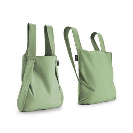 Bolsa-mochila plegable Verde oliva