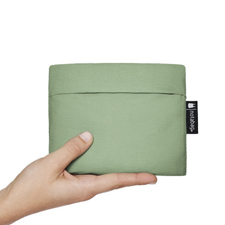 Bolsa-mochila plegable Verde oliva pocket