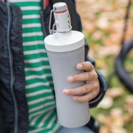 Botella de agua ecológica