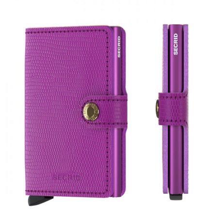 Cartera automatica-anticopia Secrid Miniwallet violeta vibrante