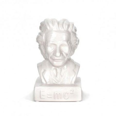 Hucha cerámica de Albert Einstein, un regalo muy original