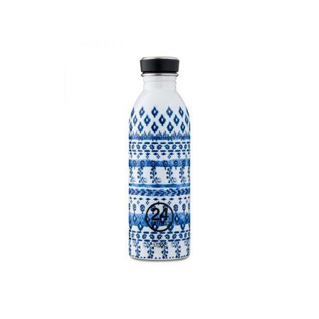 Termo 24 Bottles motivos azules