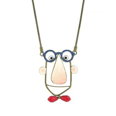 Colgante «Chico con gafas» Taratata detalle