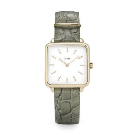 "Reloj CLUSE La Tétragone ""Cocodrilo Verde"""