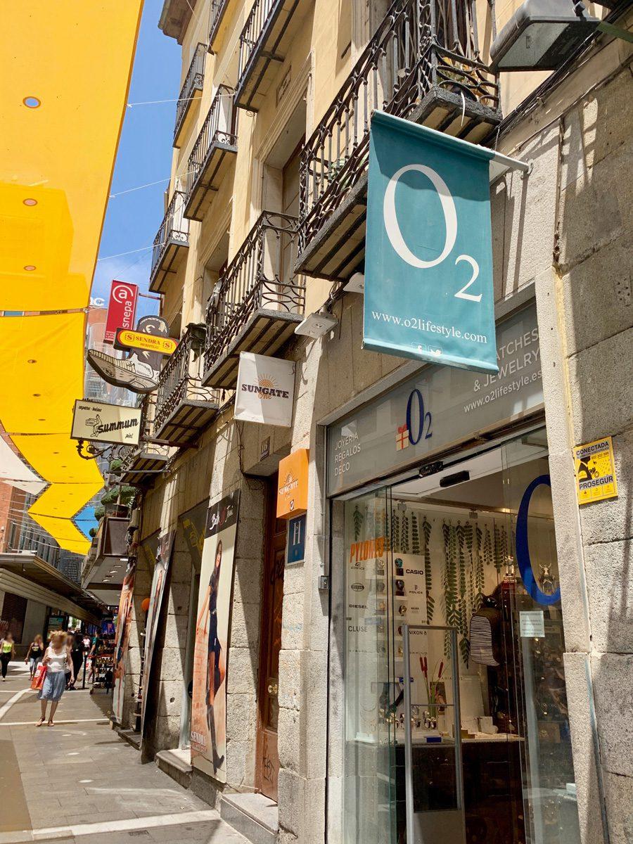 Tienda de regalos joyeria y objetos de diseño en Madrid